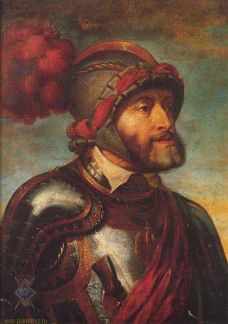 Император Карл V :: Питер Рубенс - Исторические сюжеты в живописи фото