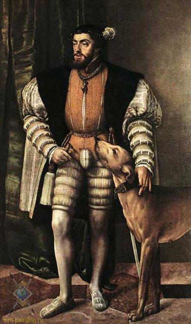 Портрет императора Карла V :: Якоб Сейсенеггер ( Австрия ) - Исторические сюжеты в живописи фото