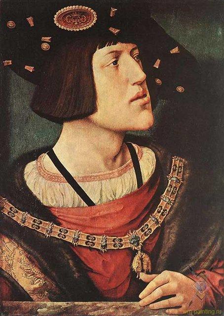 Портрет Карла V :: Бернаеэт ван Орли - Исторические сюжеты в живописи фото