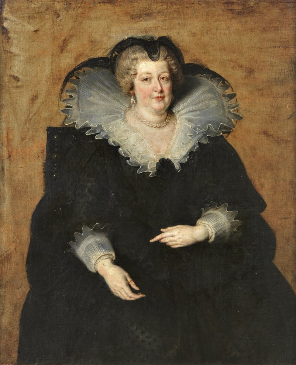 портрет Марии Медичи - королевы Франции :: Питер Пауль Рубенс - (Peter Paul Rubens) Рубенс Питер Пауль фото