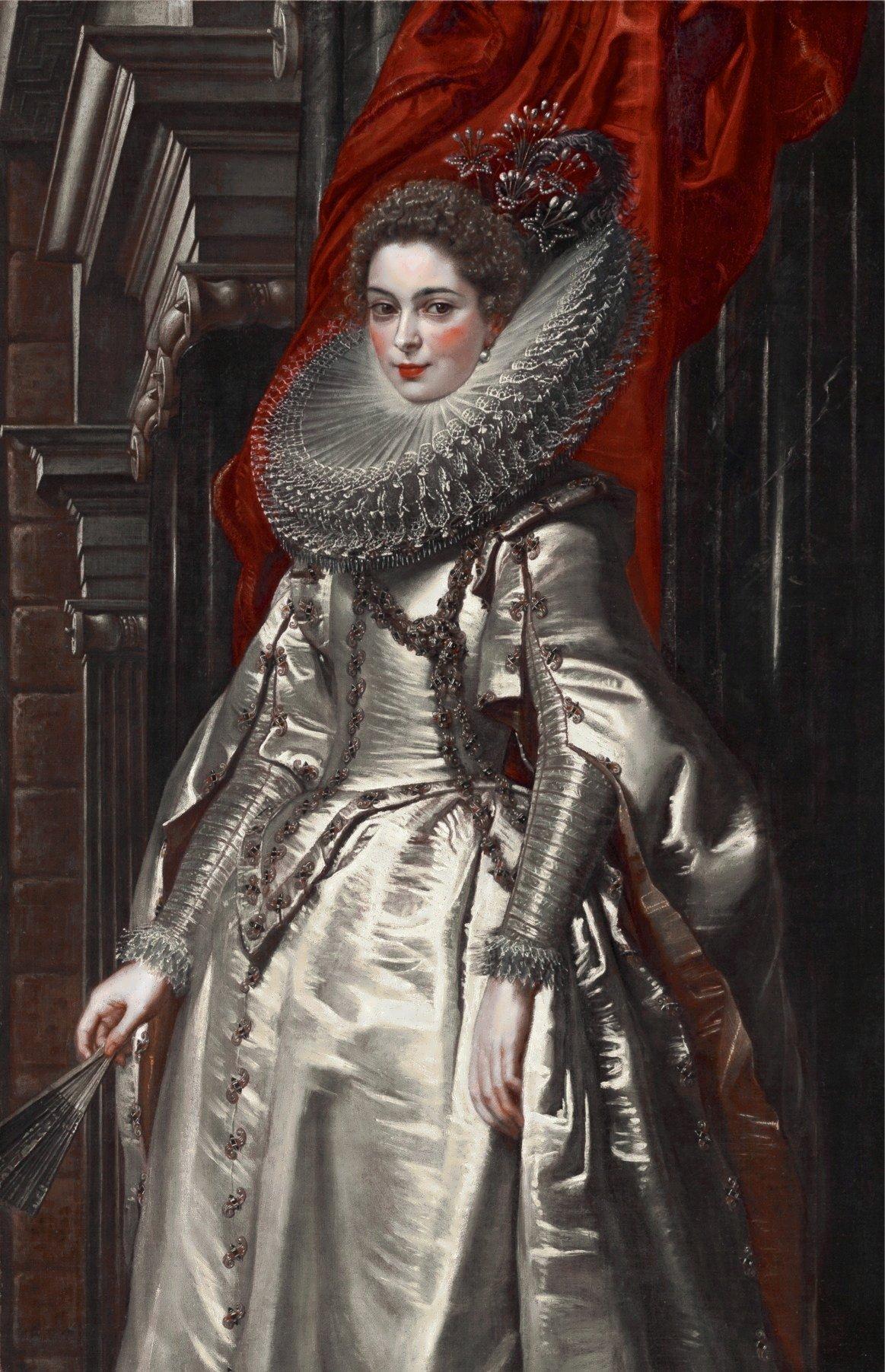 Портрет Маркизы Брихиды Спинолы Дории :: Питер Пауль Рубенс - (Peter Paul Rubens) Рубенс Питер Пауль фото