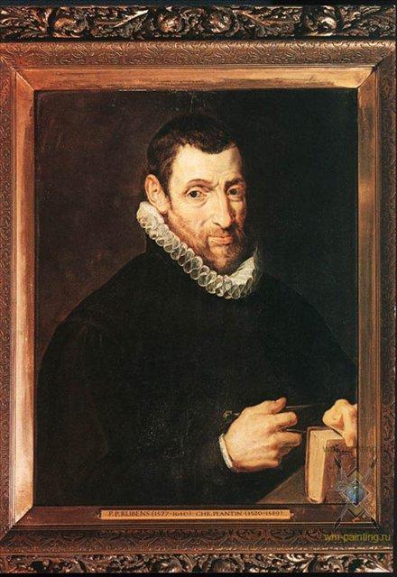 портрет Кристофеля Плантина :: Питер Рубенс - (Peter Paul Rubens) Рубенс Питер Пауль фото