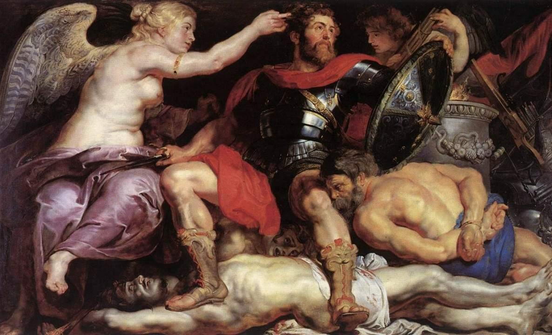 Триумф победителя :: Питер Пауль Рубенс - (Peter Paul Rubens) Рубенс Питер Пауль фото