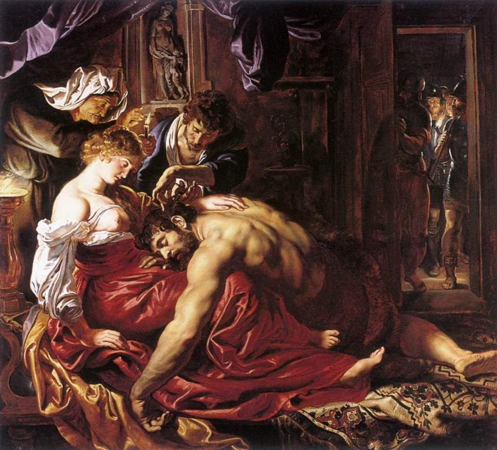Самсон и Далила :: Питер Пауль Рубенс - (Peter Paul Rubens) Рубенс Питер Пауль фото