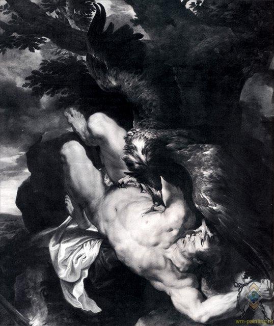 Страдание Прометея :: Питер Пауль Рубенс - (Peter Paul Rubens) Рубенс Питер Пауль фото