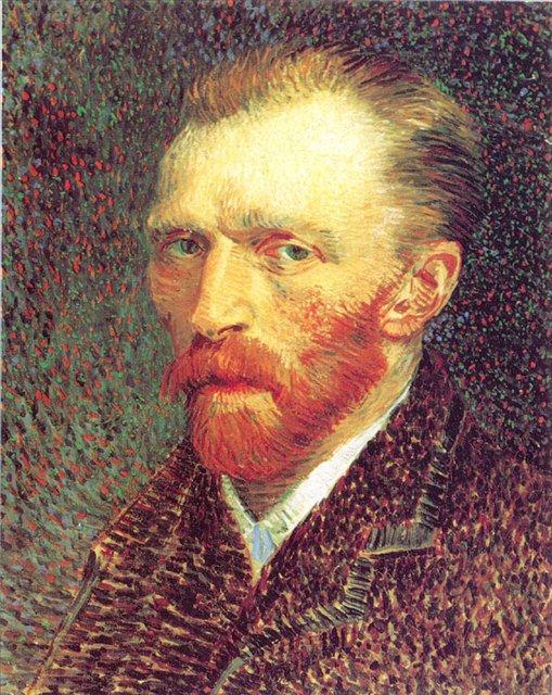 Ван Гог, автопортрет, описание картины  - Van Gogh (Ван Гог) фото