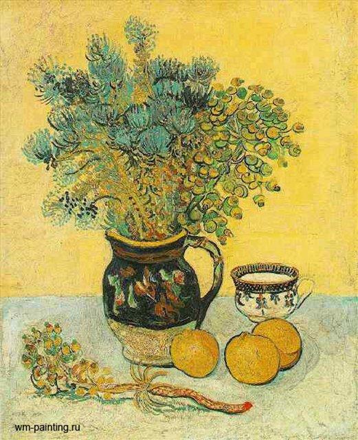 Майолика с полевыми цветами :: Ван Гог ( Голландия, Франция ) - Van Gogh (Ван Гог) фото