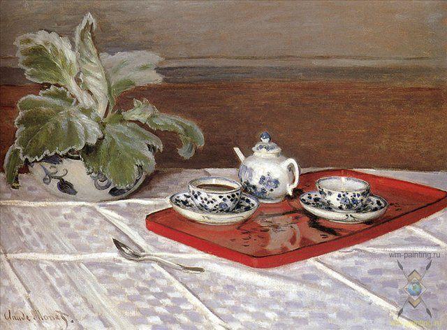 Чайный сервиз :: Клод Моне ( Франция ) - Claude Monet фото