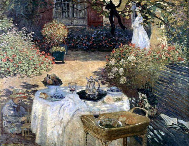 Сад Моне в Аржантей :: Клод Моне ( Франция ) - Моне Клод (Claude Monet) фото