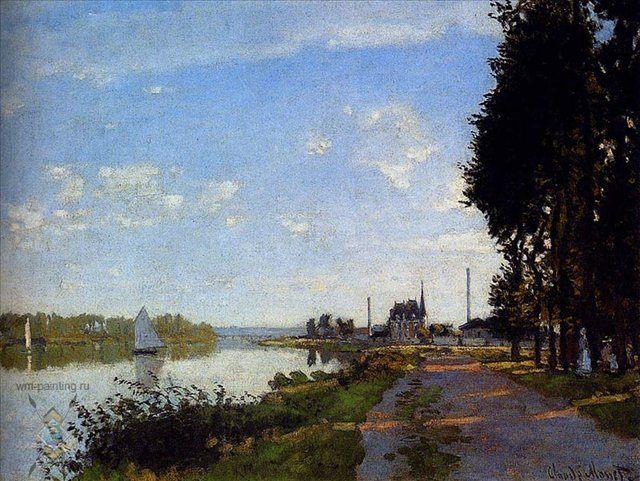 Аржантей :: Клод Моне ( Франция ) - Моне Клод (Claude Monet) фото