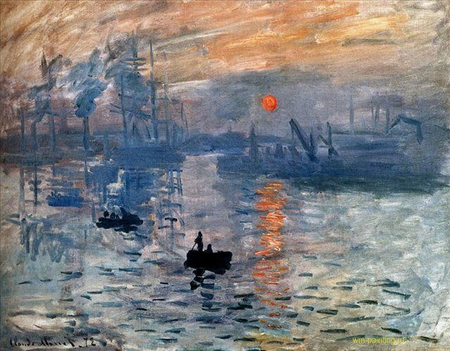 Впечатление, восход солнца :: Клод Моне ( Франция ) - Моне Клод (Claude Monet) фото