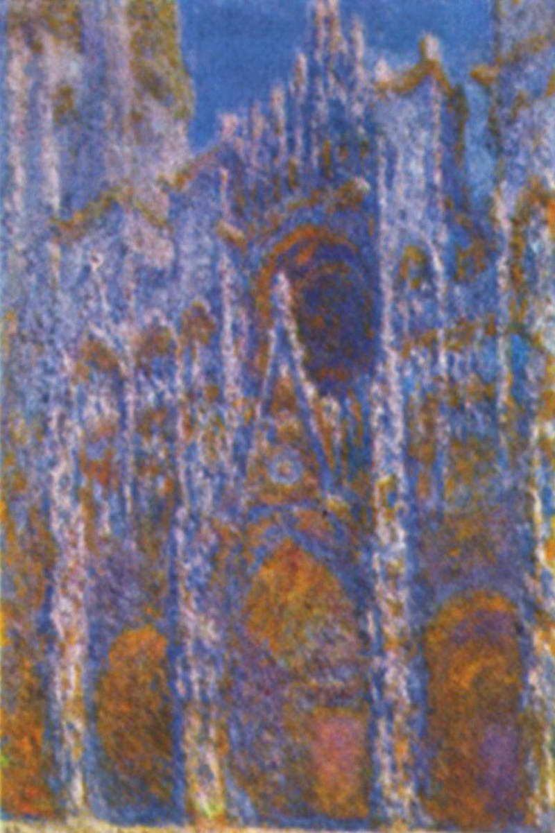 Руанский собор ( гармония в голубом ) :: Клод Моне ( Франция ) - Моне Клод (Claude Monet) фото