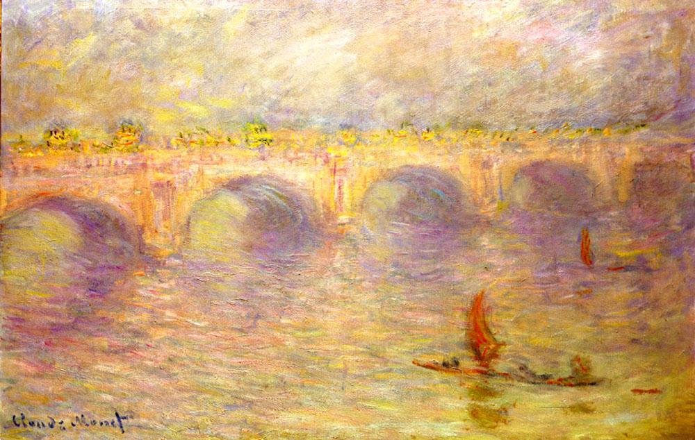 Мост Ватерлоо - Claude Monet фото