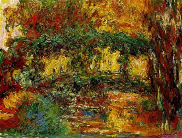 Японский мостик :: Клод Моне - Claude Monet фото