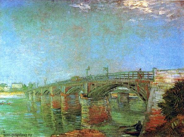 Мост через Сену :: Винсент Виллем Ван Гог - Van Gogh фото