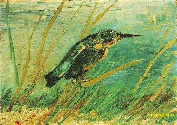 картина Зимородок :: Винсент Виллем Ван Гог - Van Gogh (Ван Гог) фото