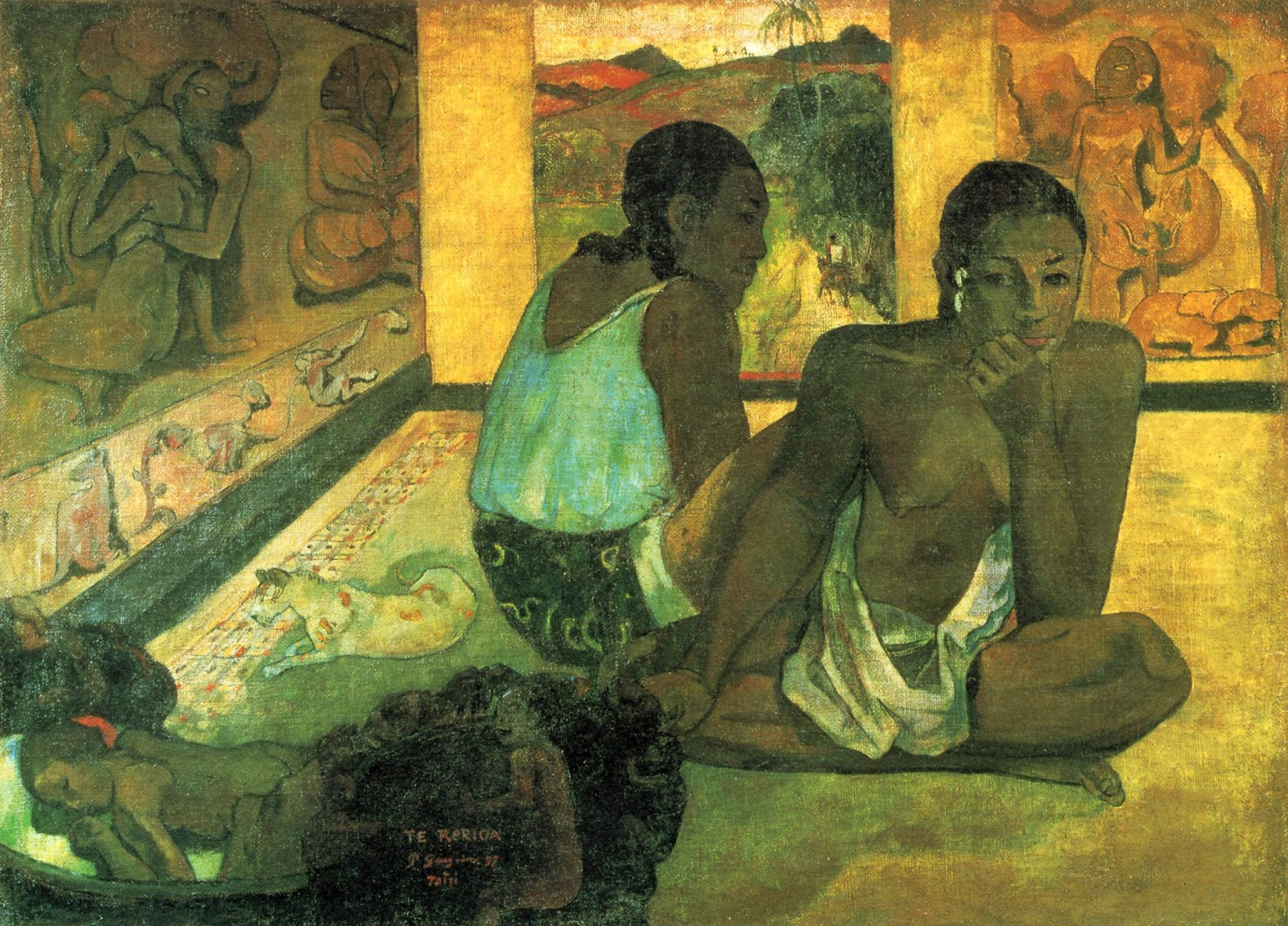Мечта (Te rerioa)  :: Поль Гоген - Paul Gauguin фото