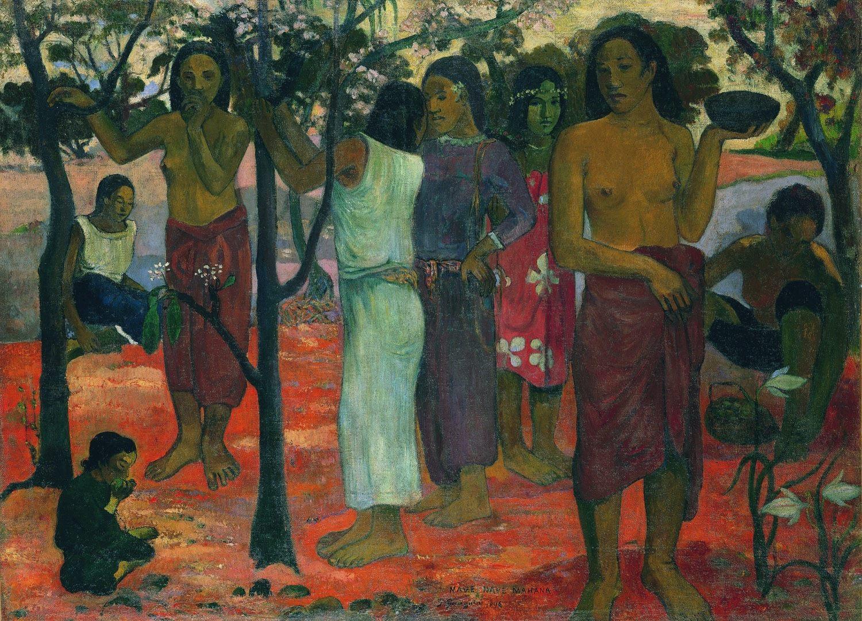 Великолепные дни (Nave nave mahana)  - Paul Gauguin фото