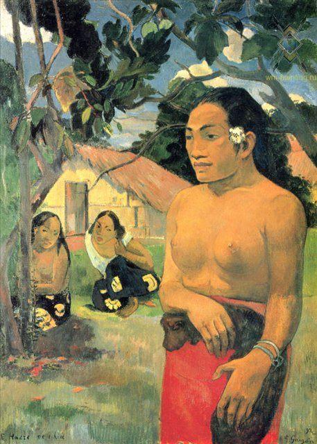 Куда ты идешь? (E haere oe i hia?)  :: Поль Гоген - Paul Gauguin фото