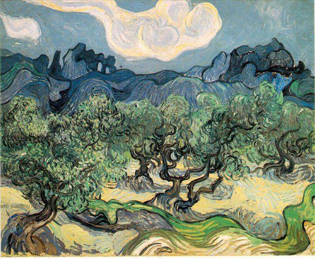 Оливковые деревья :: Ван Гог - Van Gogh фото