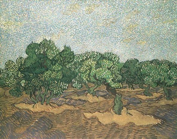 Голубое небо ван гог винсент van gogh