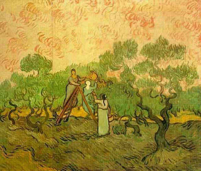 Сбор оливок :: Ван Гог - Van Gogh фото