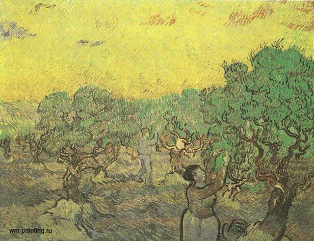 Сборщики оливок :: Винсент Виллем Ван Гог - Van Gogh (Ван Гог) фото