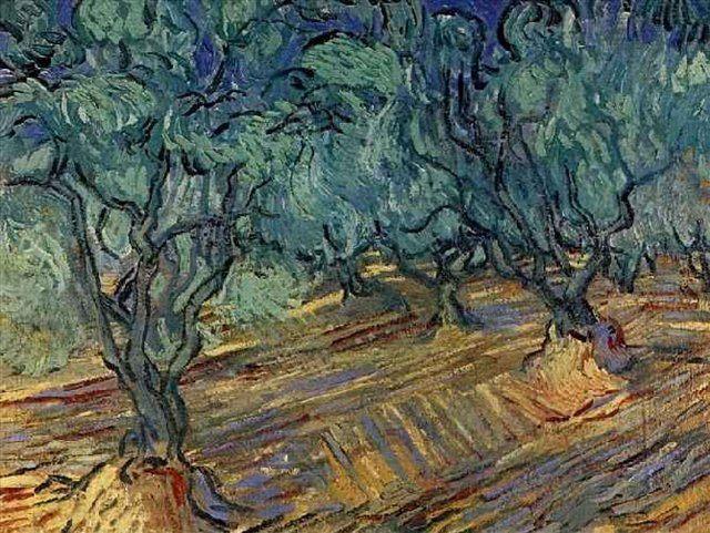 Оливки, ярко-синее небо  :: Ван Гог - Van Gogh фото