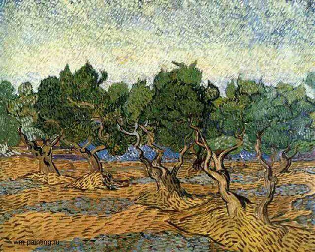 Оливковая роща  IV :: Ван Гог - Van Gogh (Ван Гог) фото