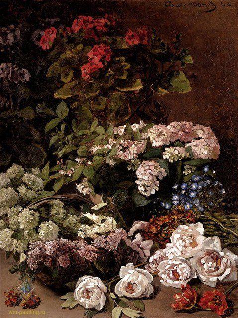 Весенние цветы  :: Клод Моне - Моне Клод (Claude Monet) фото