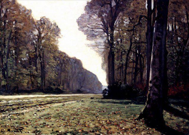 Дорога в Шайи ( Шайли ) :: Клод Моне - Моне Клод (Claude Monet) фото