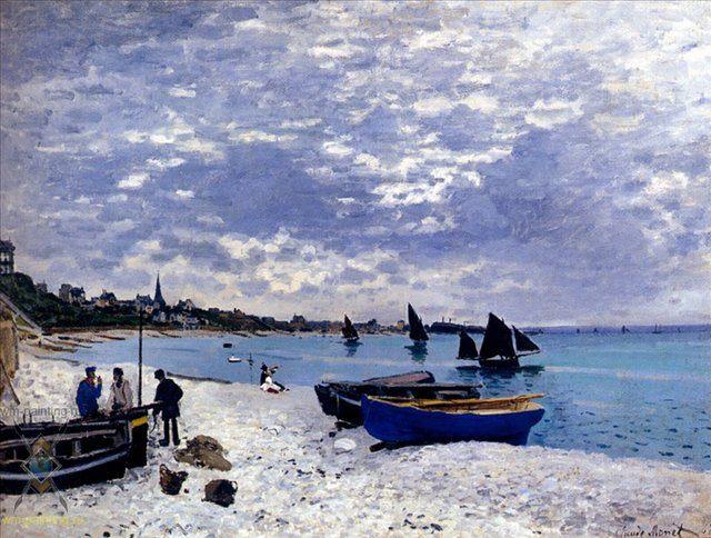 Побережье возле Сент-Адресс :: Клода Моне - Моне Клод (Claude Monet) фото