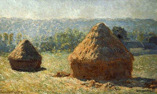 Стога (конец лета) :: Клод Моне - Моне Клод (Claude Monet) фото
