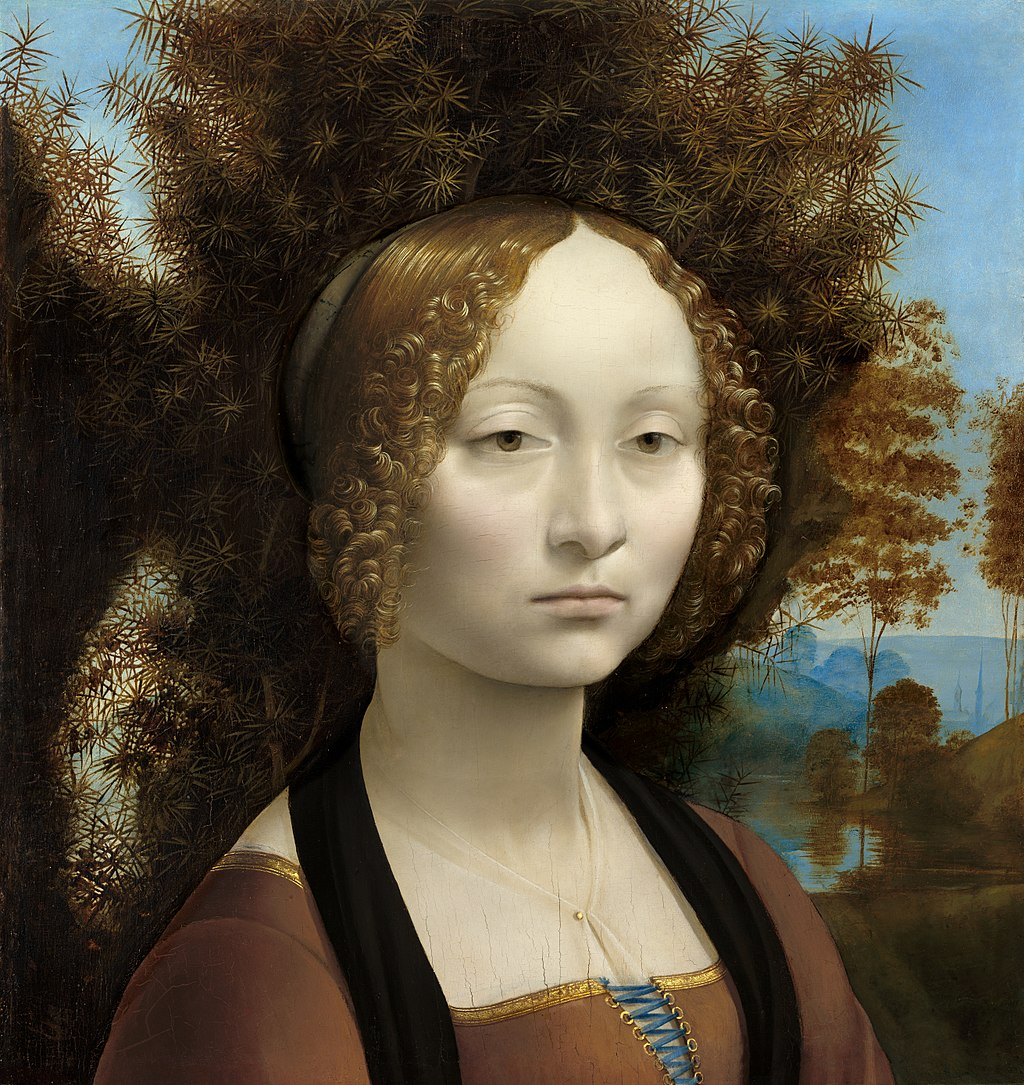 Портрет Дамы :: Леонардо да Винчи - da Vinci Leonardo фото