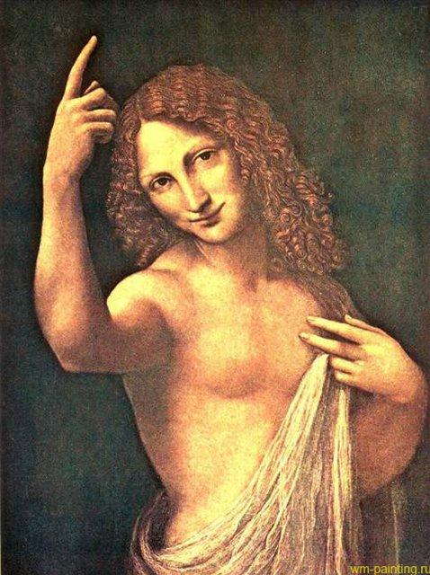 Ангел, приносящий благую весть :: Леонардо да Винчи - да Винчи, Леонардо фото