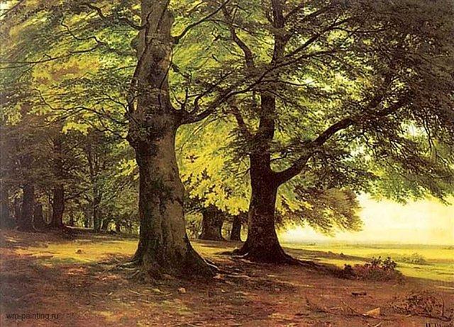 картина пейзаж Тевтобурский лес :: Шишкин И.И. - Шишкин Иван ( Ivan Shishkin ) фото
