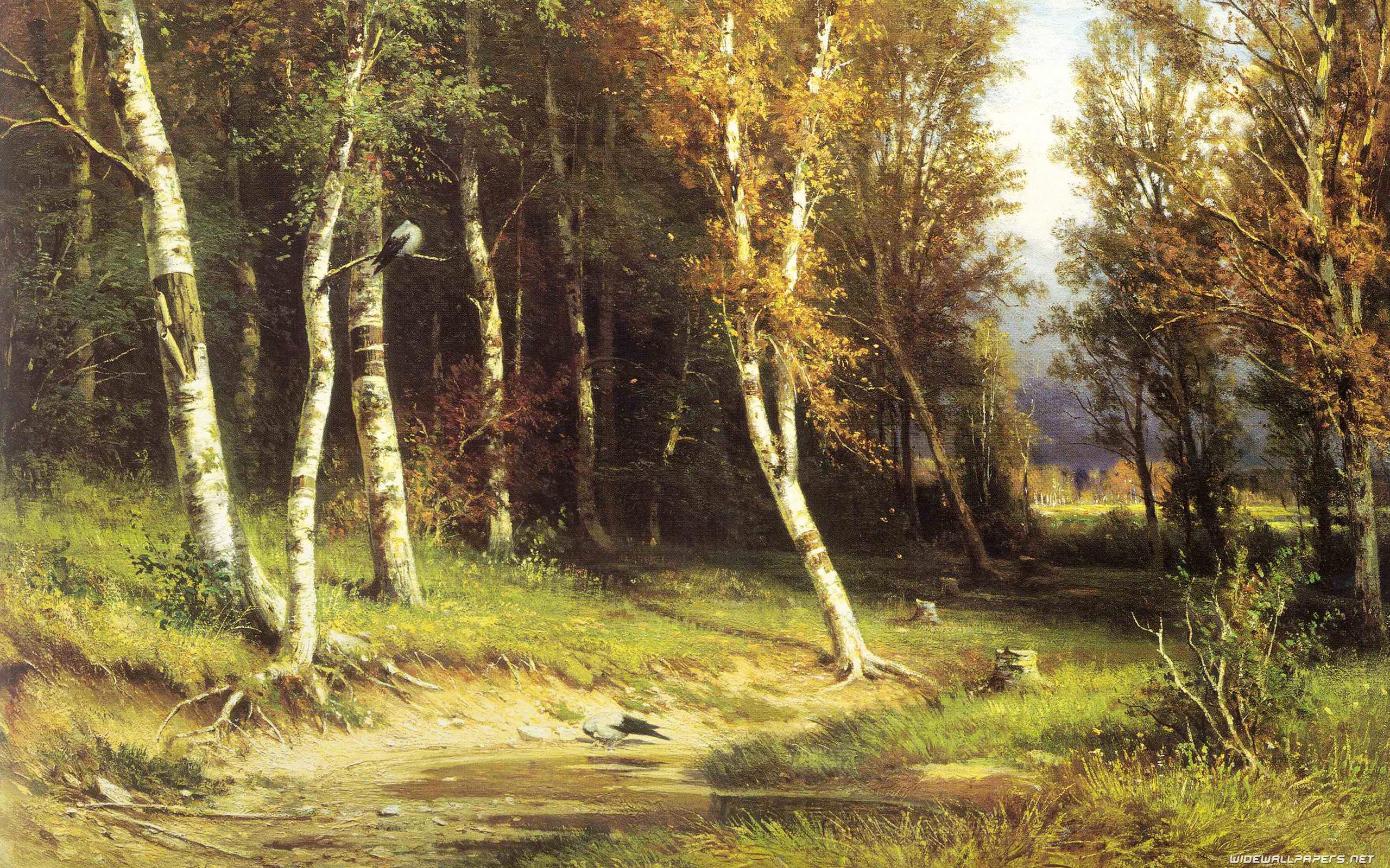 Лес перед грозой :: Шишкин И.И. ( Ivan Shiskin ) - Шишкин Иван ( Ivan Shishkin ) фото