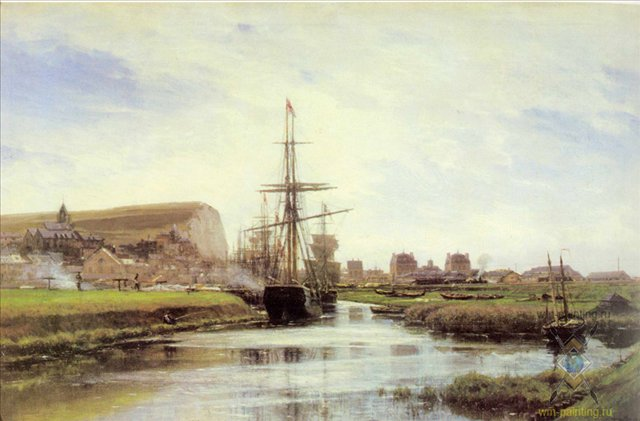 Трепор. Нормандия :: Боголюбов А. П. - Море в живописи ( морские пейзажи, seascapes ) фото