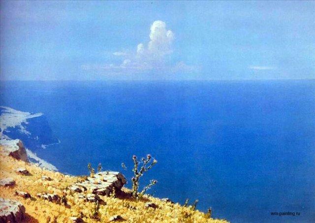 Море. Крым ::  Куинджи А. И. [ Arkhip Kuinji ] - Море в живописи ( морские пейзажи, seascapes ) фото