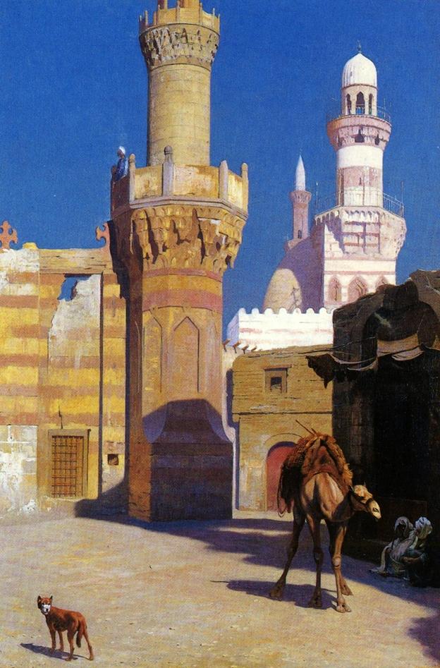 Жаркий день в Каире :: Жером Жан-Леон - Арабский восток фото