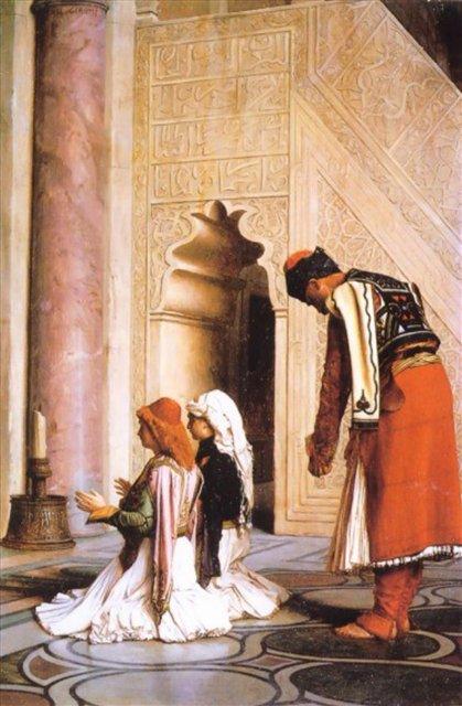 За молитвой :: Жером Жан-Леон ( Франция ) - Арабский восток фото