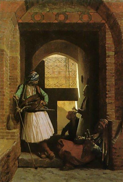 Стражники у ворот :: Жером Жан-Леон ( Франция ) - Арабский восток фото