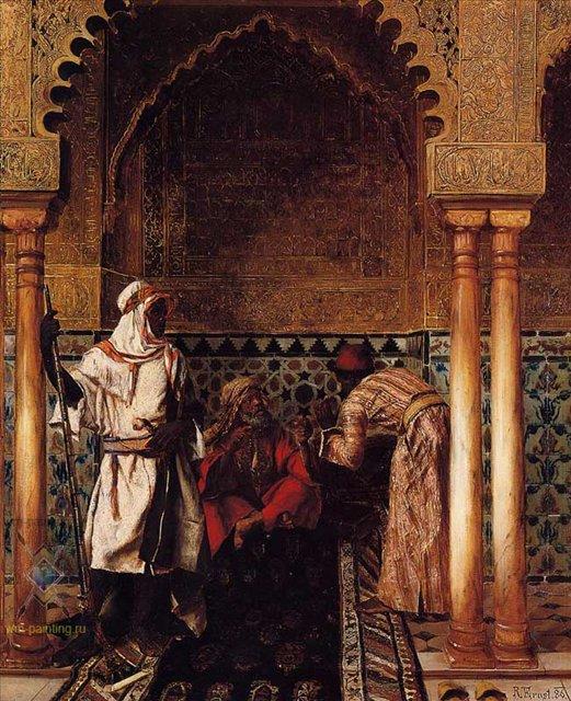 Арабский мудрец :: Рудольф Эрнст ( Франция ) - Арабский восток фото
