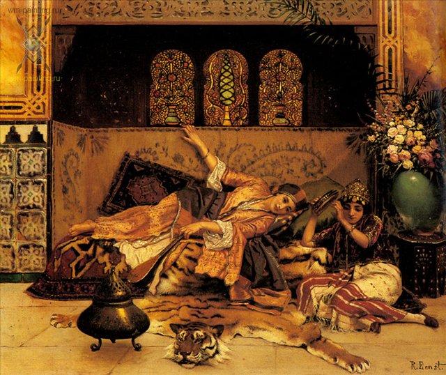 Пленницы :: Рудольф Эрнст - Арабский восток фото