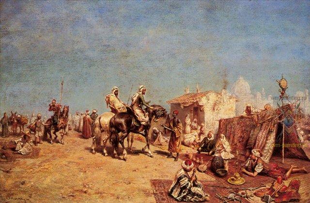 Арабский лагерь-рынок :: Пасини Альберто ( Италия ) - Арабский восток фото