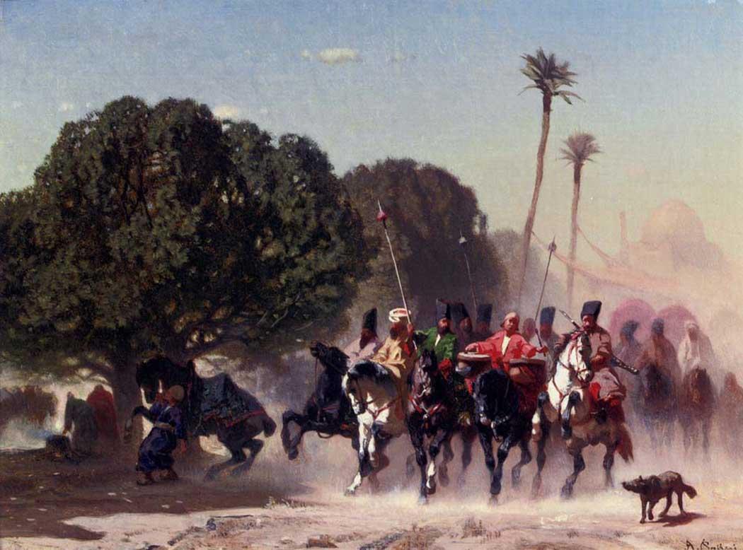 Конная стража :: Альберто Пасини ( Италия ) - Арабский восток фото