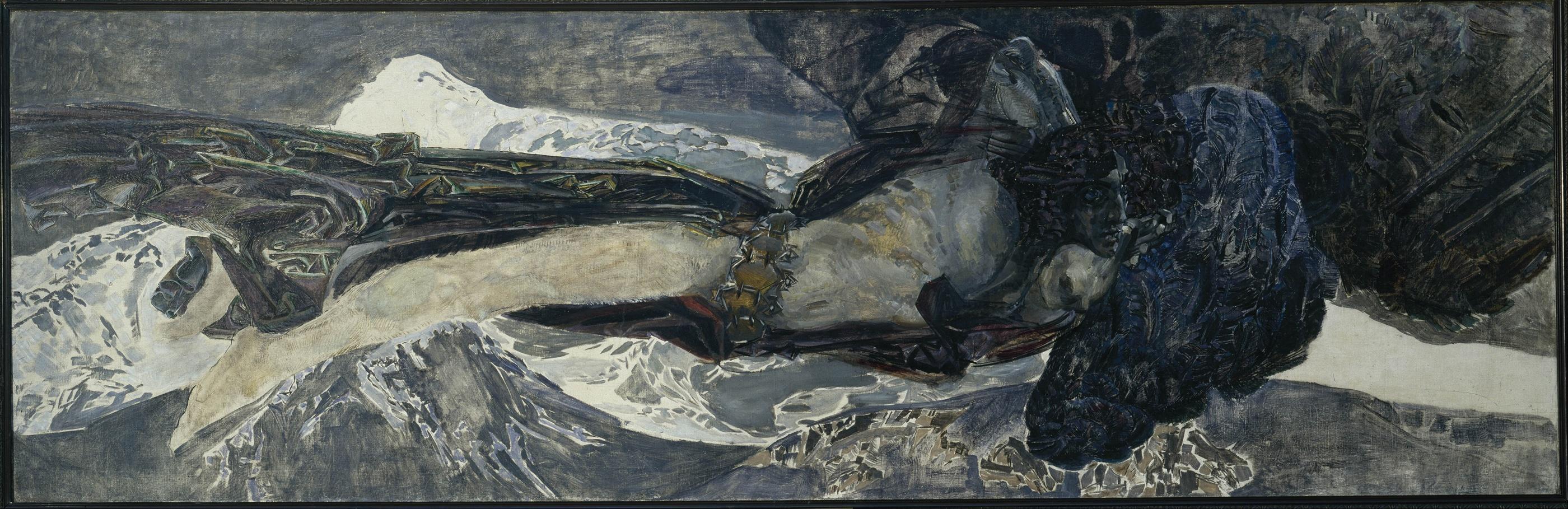 Летящий Демон :: Врубель М.А. - Врубель Михаил Александрович ( Vrubel Michail ) фото