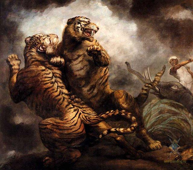 Охота на тигров :: Джеймс Норткоут - Жанровые сцены фото