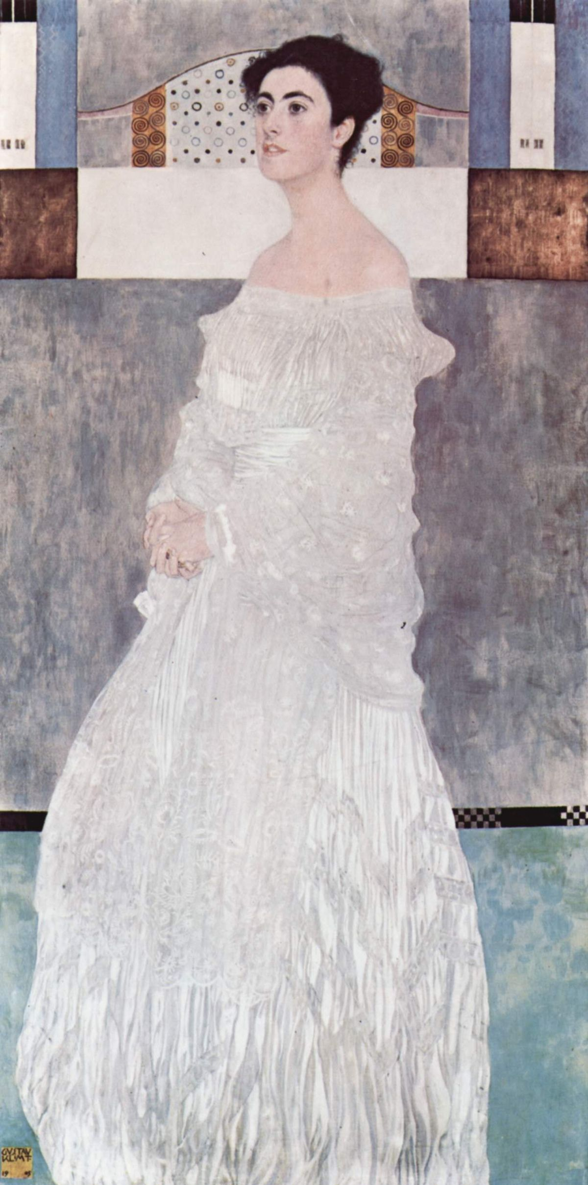Портрет Маргарет Стонборо-Витгенштейн :: Густав Климт ( Австрия ) - Gustav Klimt (Климт Густав ) фото