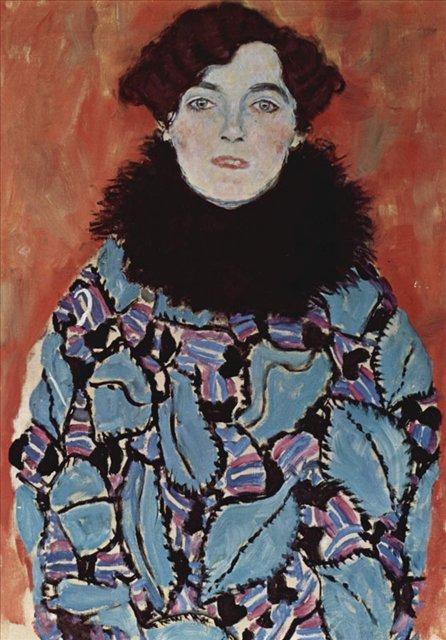 Портрет Иоганны Штауде :: Густав Климт (Австрия ) - Gustav Klimt (Климт Густав ) фото